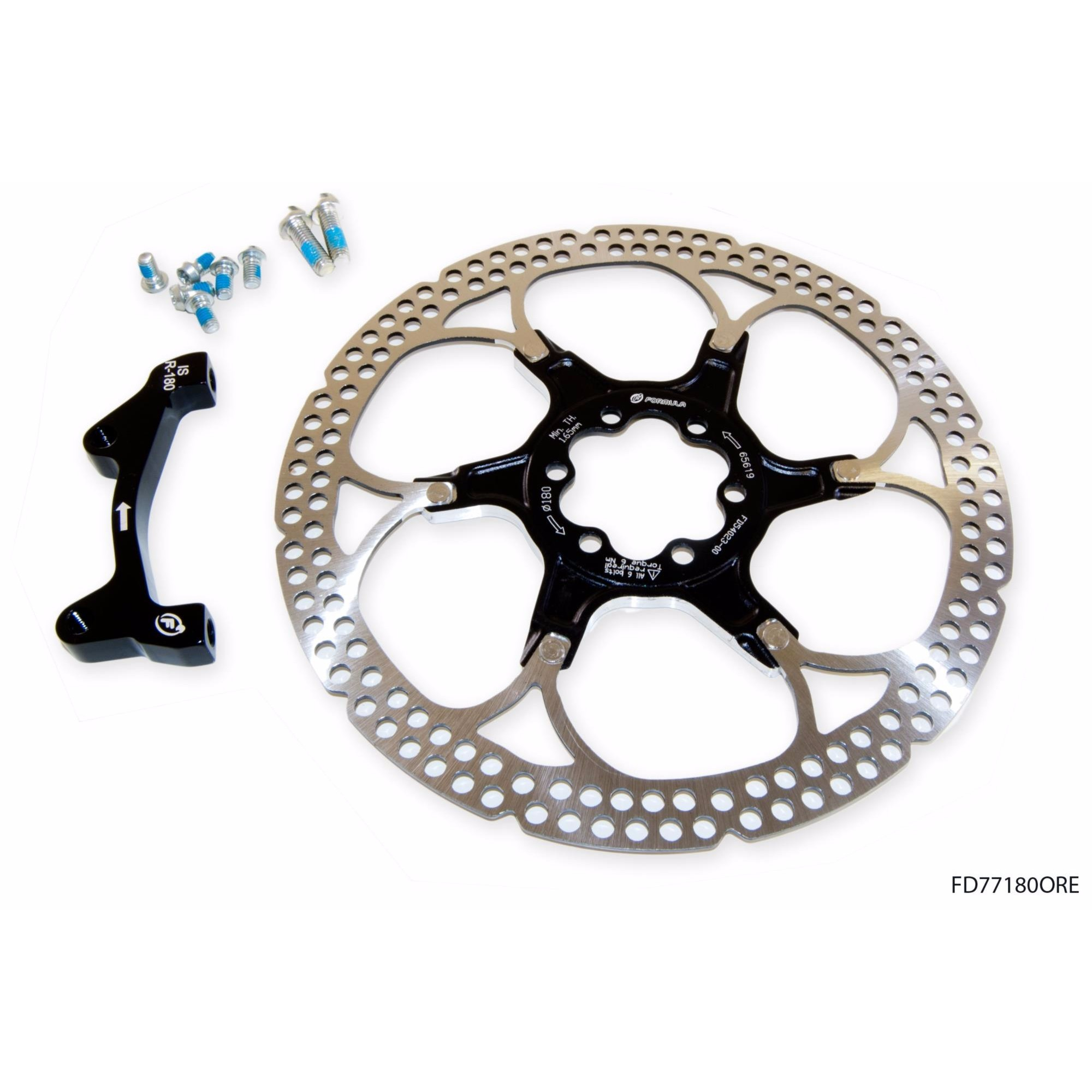 NEW FSA K-Force DISC BRAKE ROTOR type 2pc Rotor 140mm for MTB Hydraulic brake