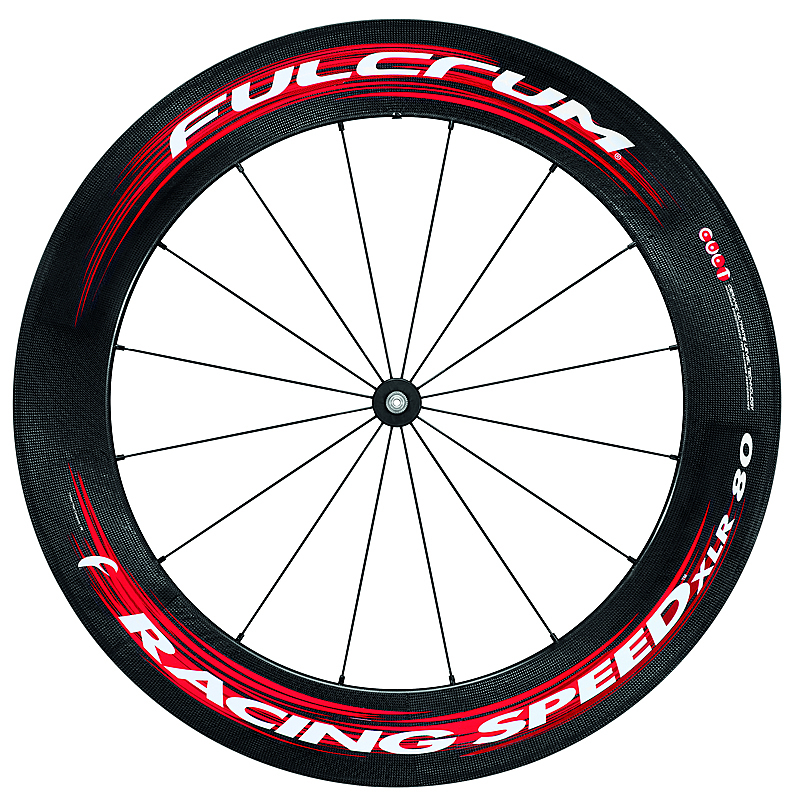 Fulcrum Racing Speed Xlr 80 Carbon Tubular Road Wheelset